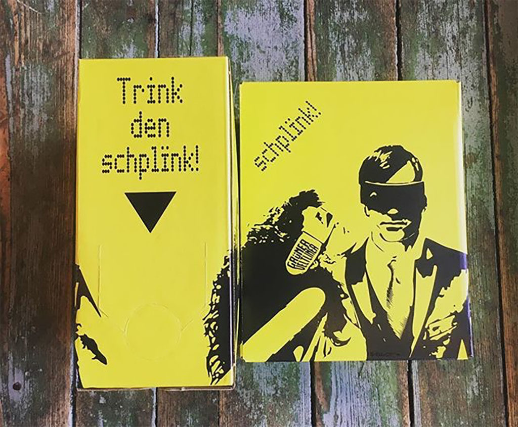 Schplïnk boxed wine