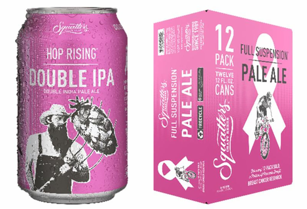 Hop rising Double IPA special packaging (Squatters)