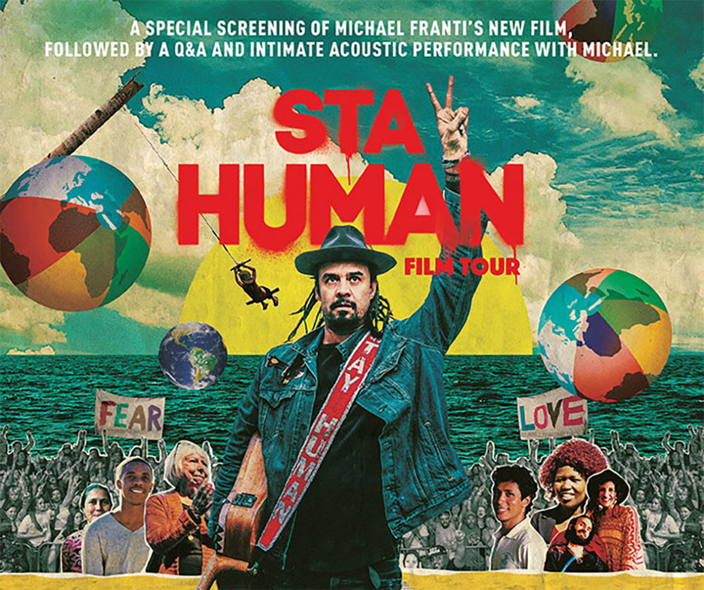 Michael Franti Stay Human (Live At The Eccles)