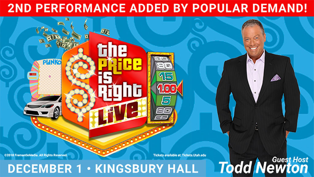 The Price Is Right (Kingsbury Hall)