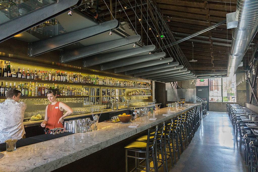 Under Current Bar interior (Gastronomic SLC)