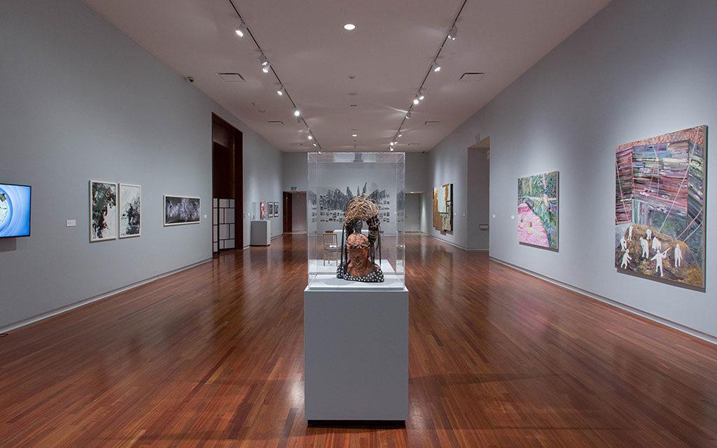 Utah Museum of Fine Art gallery (UMFA)
