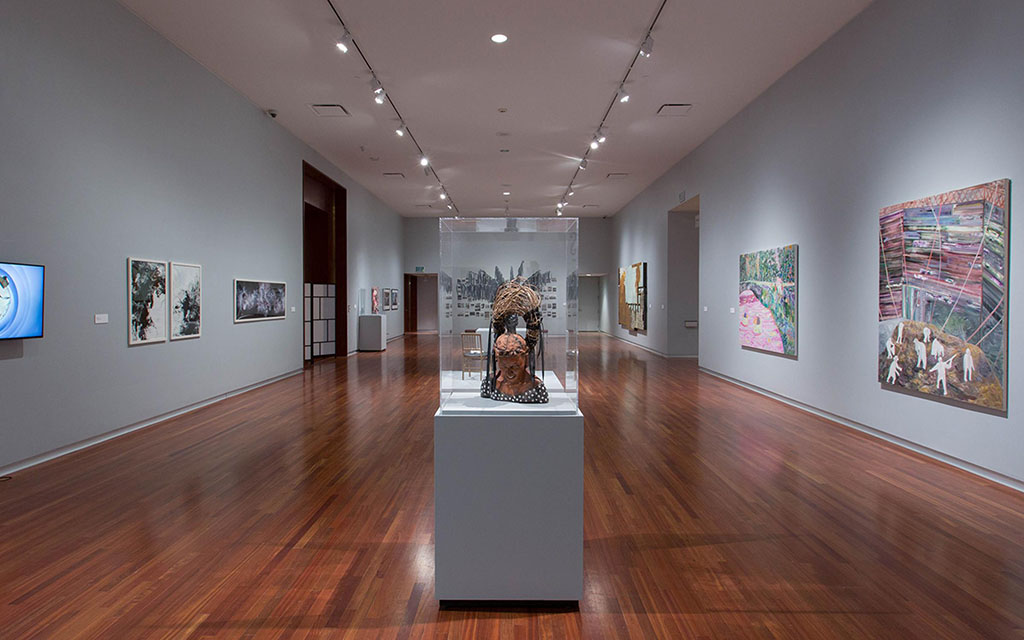 Utah Museum of Fine Art gallery (UMFA)