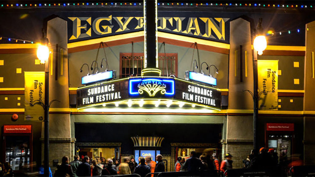 Egyptian Theatre during Sundance (Sundance Film Festival)