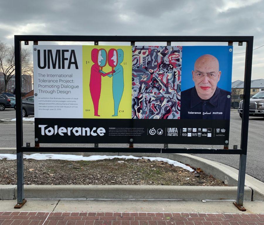 Tolerance: Salt Lake City Outdoor Exhibition