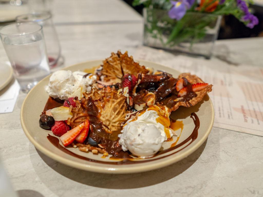Hearth And Hill dessert sundae