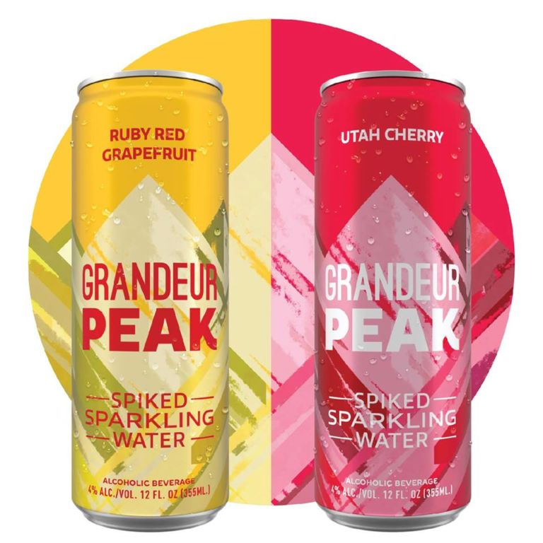 Squatters Introduces Grandeur Peak Spiked Sparkling Water