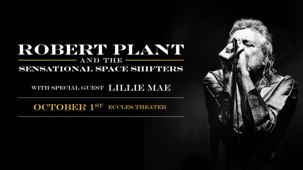 Robert Plant coming to SLC