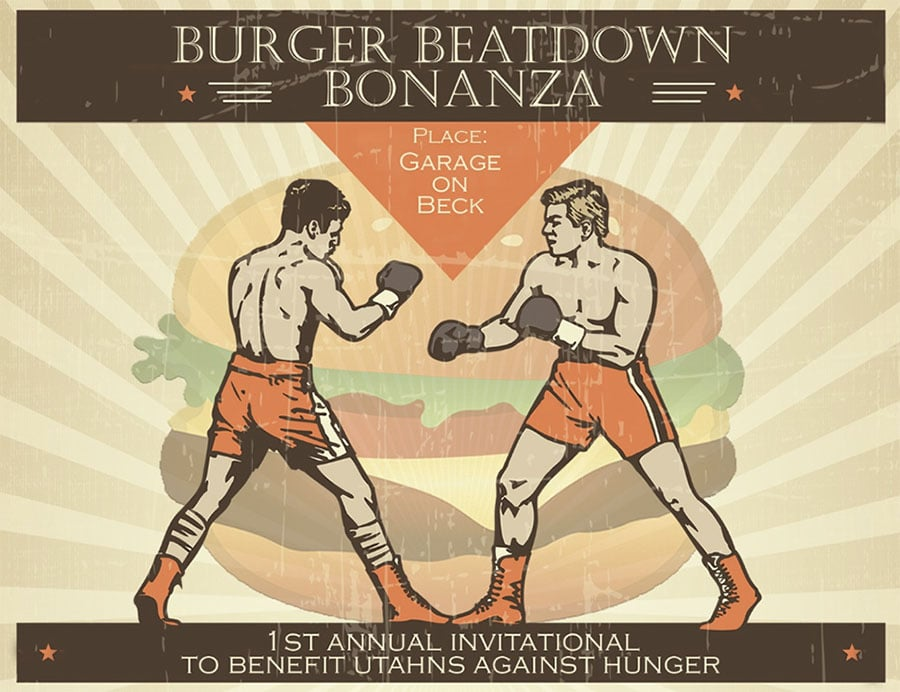 Burger beatdown bonanza