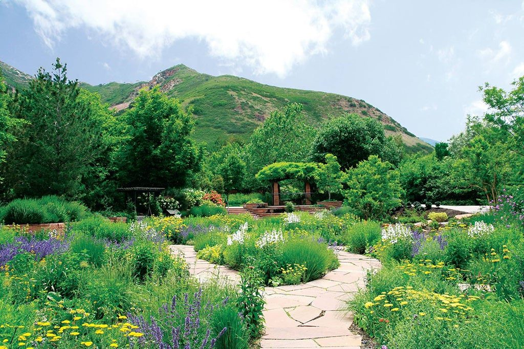 Lush scenery (Red Butte Gardens)