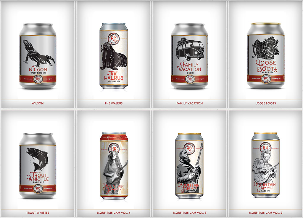 Roadhouse Brewing Co beers (RBC)