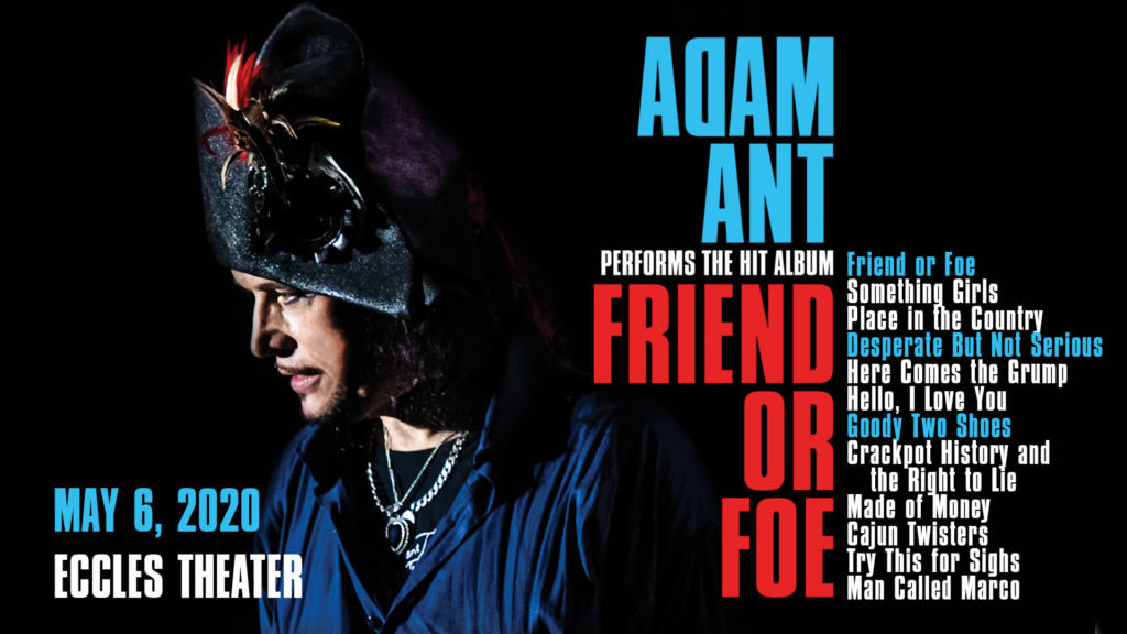 Adam Ant live in Salt Lake City (Live At The Eccles)