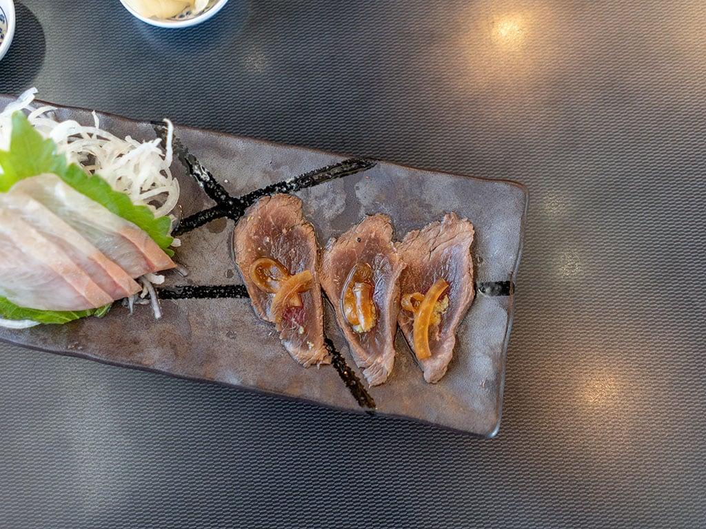 Tsunmia - Utah elk loin sashimi