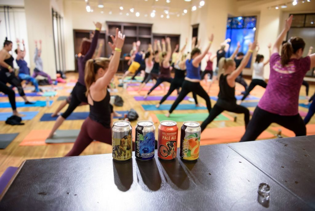 Yoga and beer (The Gateway)