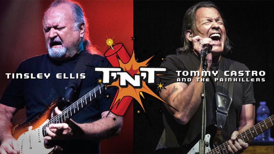 Tommy Castro & Tinsley Ellis - The T'n'T Tour