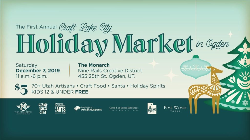 Craft Lake City Holiday Market!