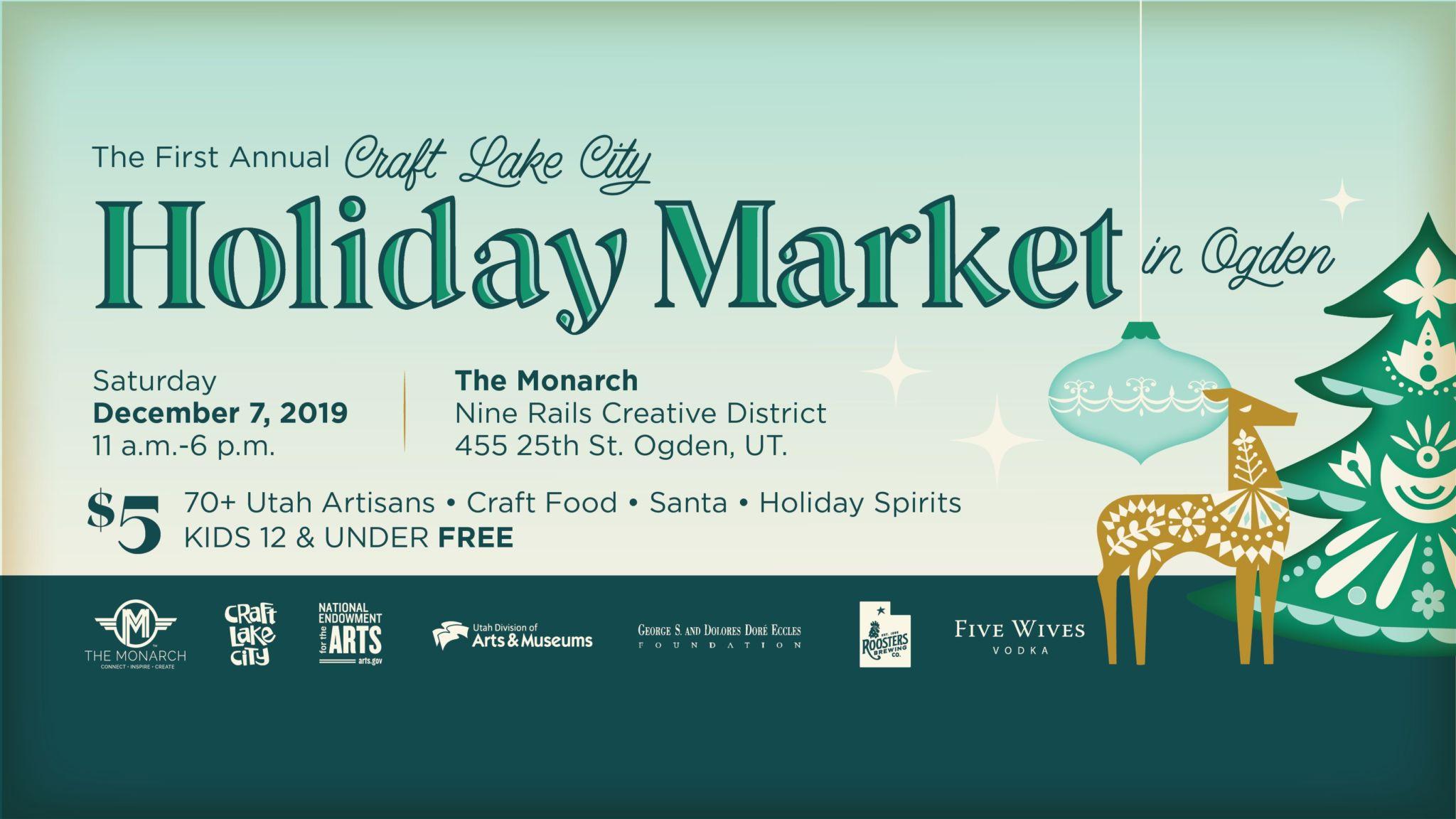 Craft Lake City Holiday Market!