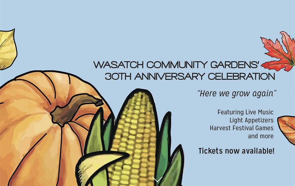 Wasatch Community Gardens celebrates 30 years
