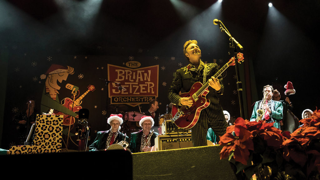 Cancellation of Brian Setzer Orchestra