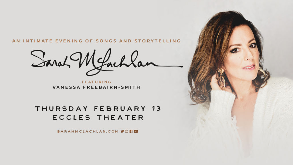 Sarah McLachlan live in Salt Lake City (Live At The Eccles)