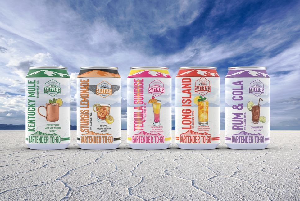 Salt Flats Spirits Launches Utah's first Bartender Designed Canned Cocktails
