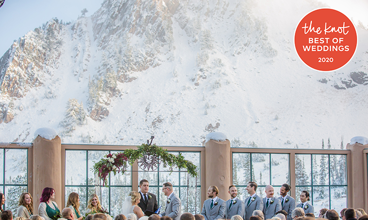 Snowbasin Resort Named Best Wedding Venue by The Knot in 2020