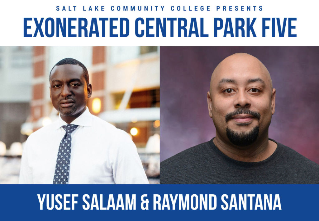 Yusef Salaam and Raymond Santana are SLCC's 2020 MLK Commemorative Keynote Speakers