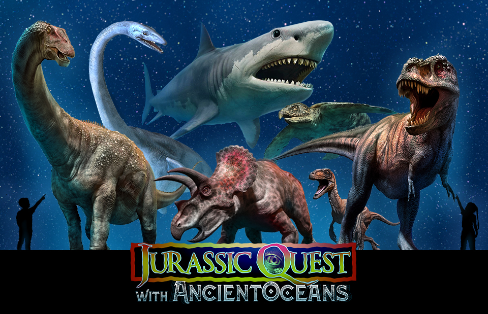 Jurassic Quest To Bring Sandy Back in Time with Life Sized Dinosaurs!