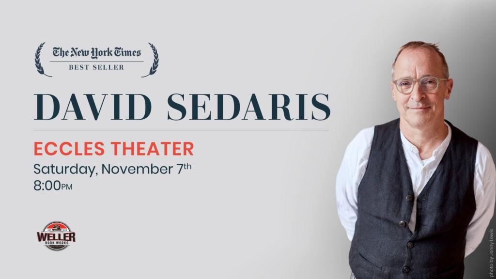 David Sedaris live in SLC