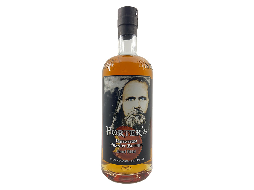 Porters Peanut Butter Whiskey