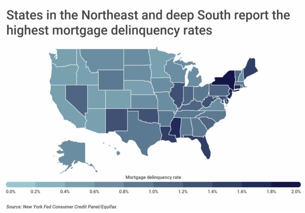Report finds Utah has 2nd lowest mortgage delinquency rate