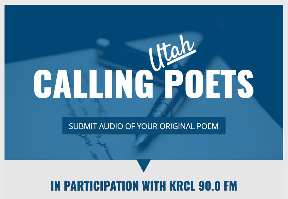 Call for Utah Poets - KRCL 90.0 FM mini-features