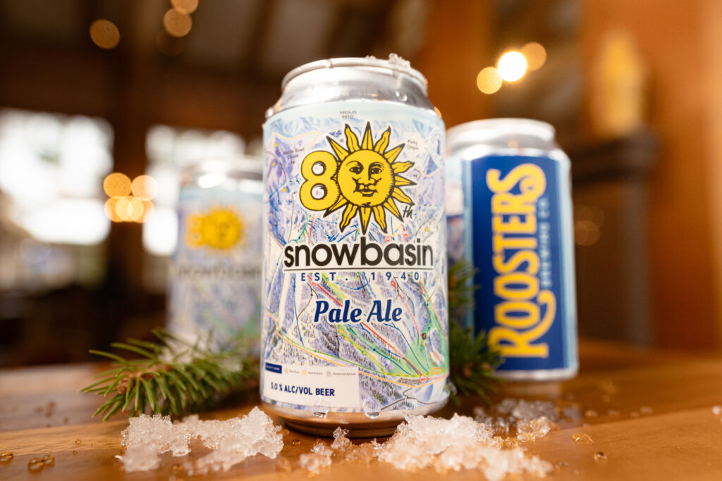 Snowbasin Partners with Roosters Brewing for 80th Anniversary Beer