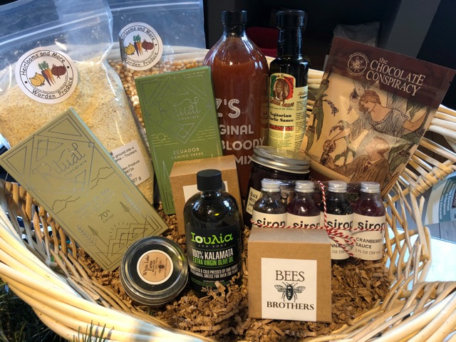 Hearth and Hill Offers Local Purveyor Baskets for the Holidays