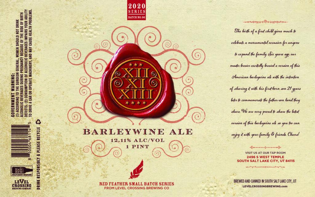 Level Crossing Press Release Barleywine Ale