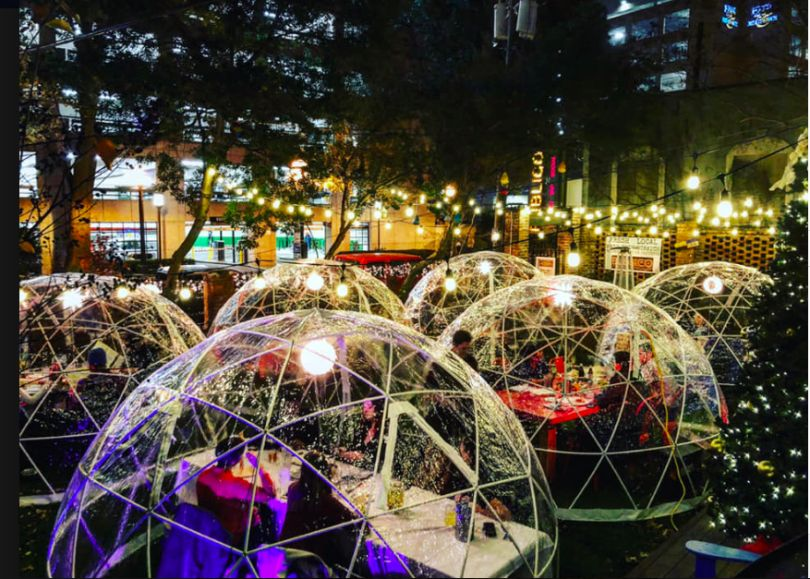 Wasatch Brewery to Offer Outdoor Igloo Dining