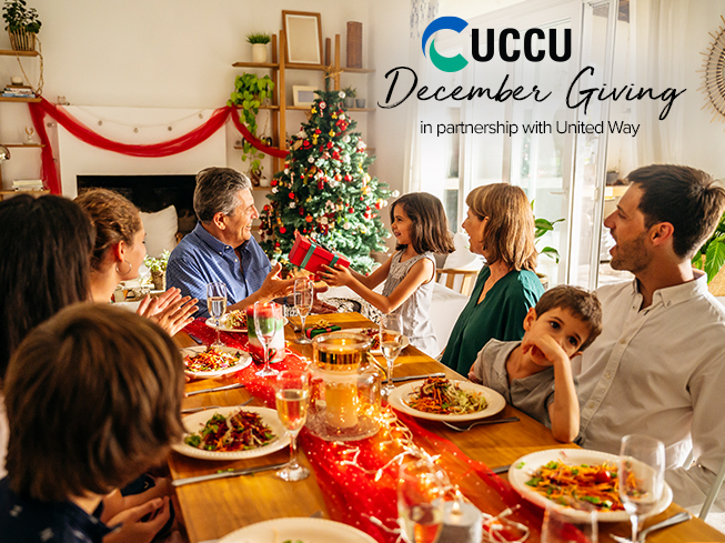 Utah Community Credit Union partners with United Way for UCCU December Giving