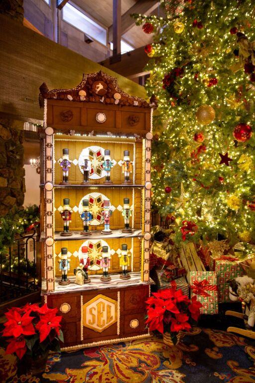 Stein Eriksen Lodge Unveils Timeless Antique Gingerbread Display