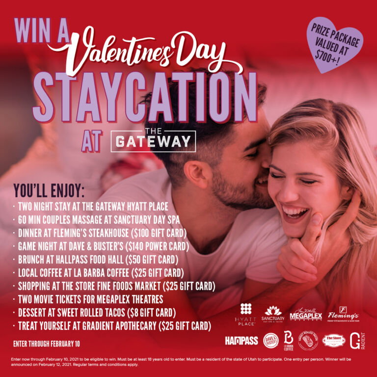 Valentine's Day Specials & Contest at The Gateway