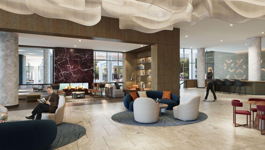 Salt Lake City Convention Hotel lobby area (VSL)