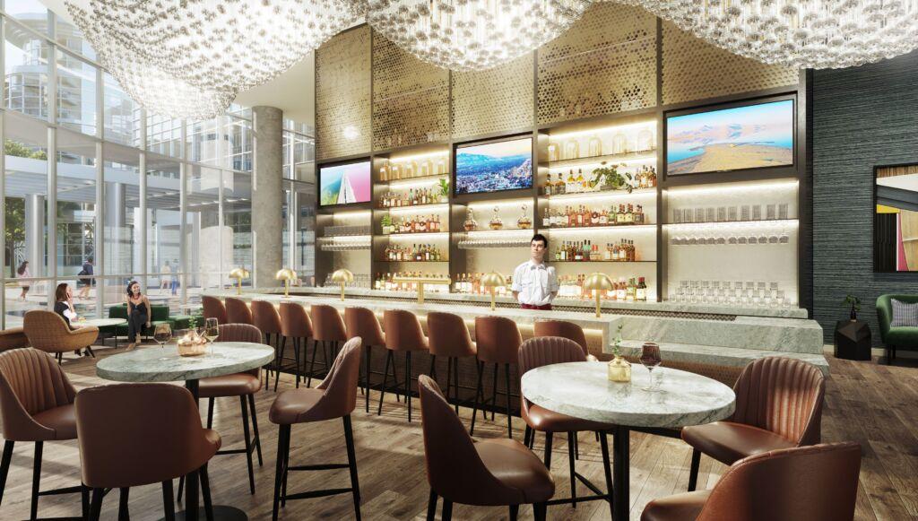 Salt Lake City Convention Hotel bar area (VSL)