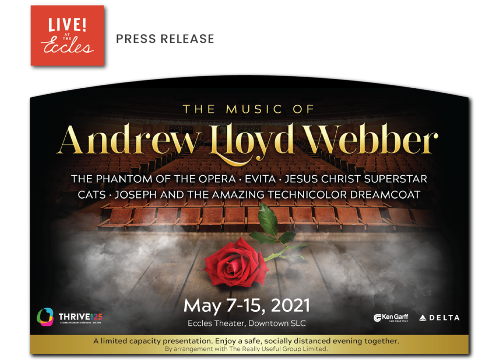 The Music of Andrew Lloyd Webber at The Eccles