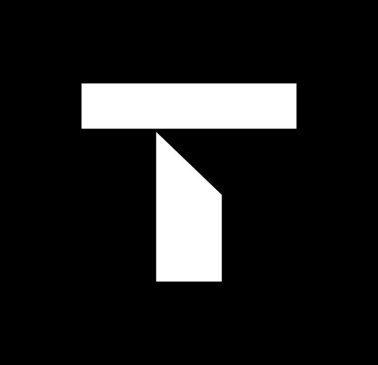 Trove T Logo - Grey