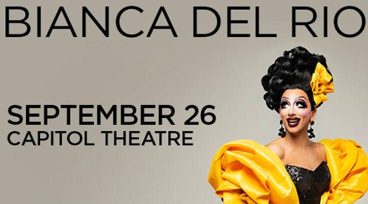 Bianca del Rio live in SLC