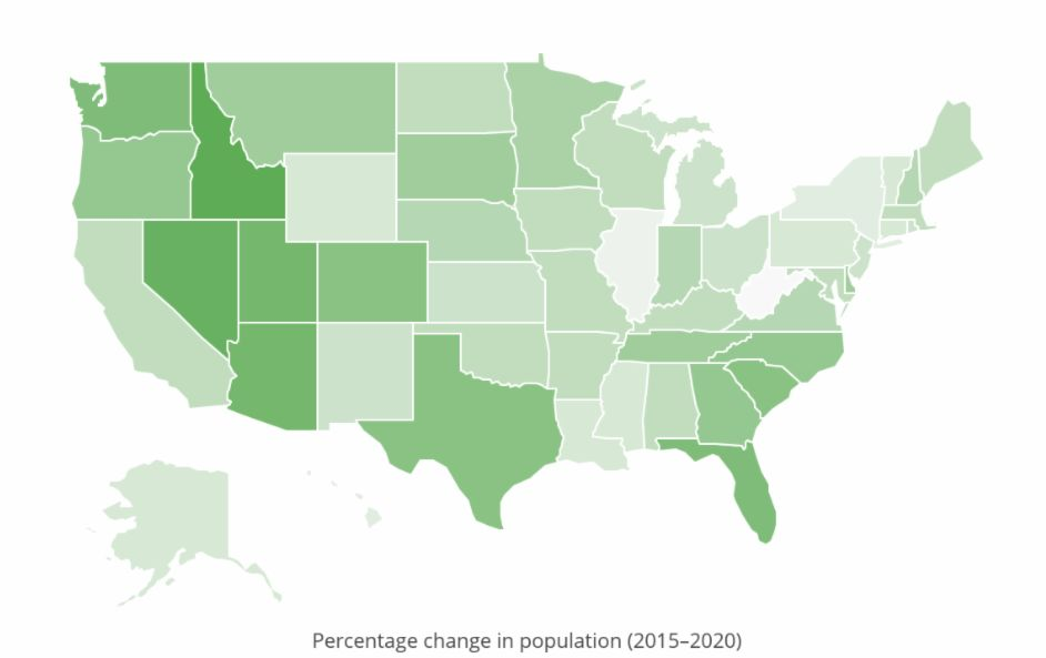 Report finds Utah 3rd fastest-growing state in U.S.