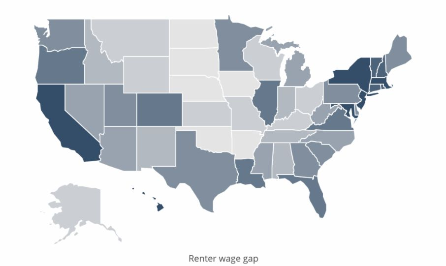 Analysis shows Utah has smaller-than-average renter wage gap
