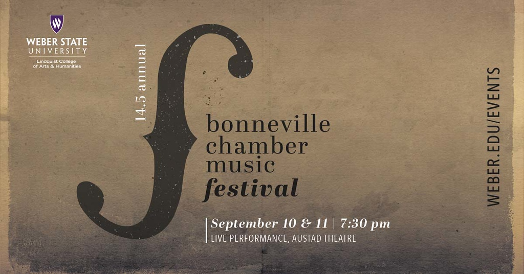 The Bonneville Chamber Music Festival Returns this Weekend