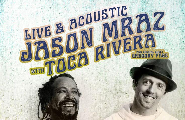 Jason Mraz with Toca Rivera live in SLC