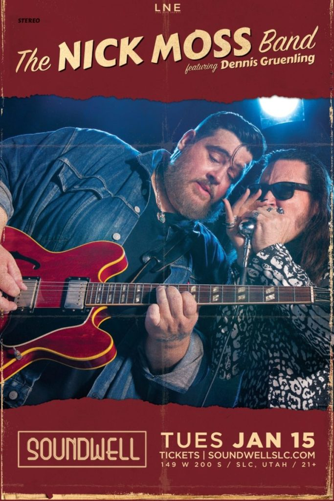 The Nick Moss Band featuring Dennis Gruenling