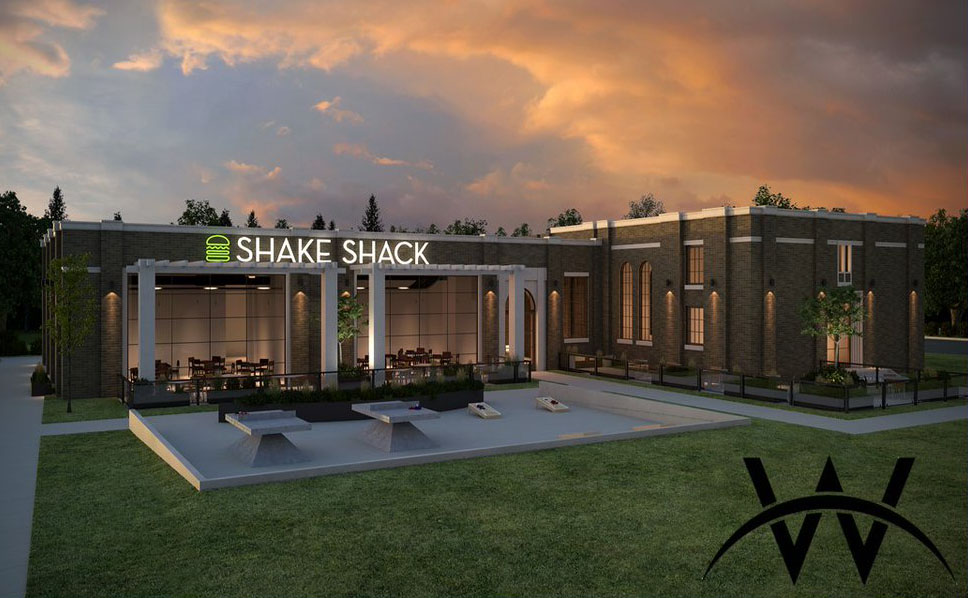 Render of planned Utah Shake Shack in Sandy (WDG)